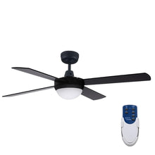 "Load image into Gallery viewer, Devanti 52"" Ceiling Fan - Black"