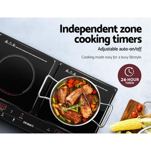 Induction Cooktop, 5 Star Chef, Duo