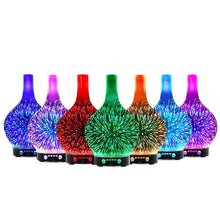 Load image into Gallery viewer, Aroma Diffuser 3D LED Light Oil Firework Air Humidifier 100ml