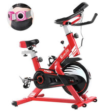 Load image into Gallery viewer, Everfit Exercise Spin Bike Cycling Fitness Commercial Home Workout Gym Equipment Red