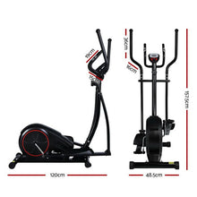 Load image into Gallery viewer, Elliptical Cross Trainer Bike, Black