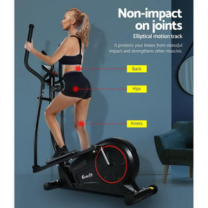 Elliptical Cross Trainer Bike, Black