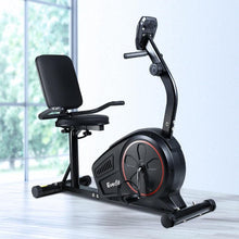 Load image into Gallery viewer, Exercise Bike, Recumbent, Black