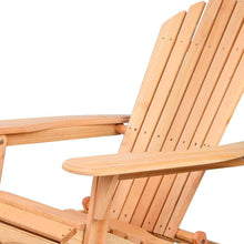Load image into Gallery viewer, Deck Chair, Wooden, Natural