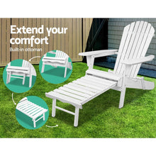 Load image into Gallery viewer, Outdoor Lounge Set, 3 Piece, White