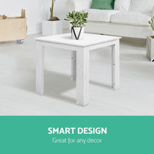 Load image into Gallery viewer, Outdoor Side Table, Wooden, White