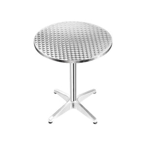 Round Bar Table, Adjustable, Aluminium