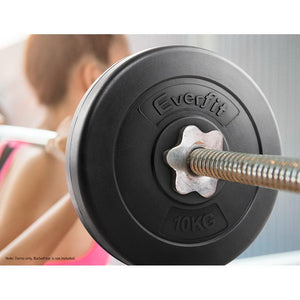 Gym Weight Plates, Set of 2, 10kg