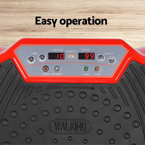 Workout Vibrating Plate, Red, 1000W