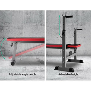 Weight Bench, Multi-Level, Red