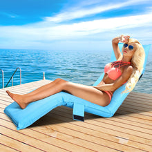 Load image into Gallery viewer, Adjustable Sun Lounger, Blue