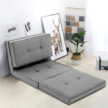 Load image into Gallery viewer, Lounge Sofa Bed & Futon, Recliner, Fabric, Light Grey