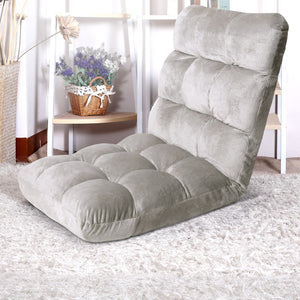 Tatami Lounge Recliner, Folding, Grey