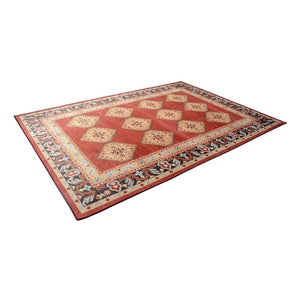 Floor Rugs Carpet, Living Room/Bedroom Mat, Soft, Large, Red, 160 x 230