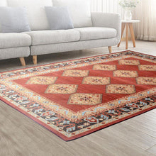 Load image into Gallery viewer, Floor Rugs Carpet, Living Room/Bedroom Mat, Soft, Large, Red, 160 x 230