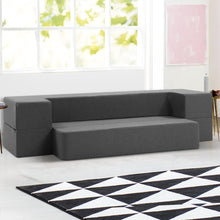 Load image into Gallery viewer, Portable Sofa Bed, Folding, Grey