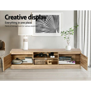 Lowline Entertainment Unit, Wooden, 160cm