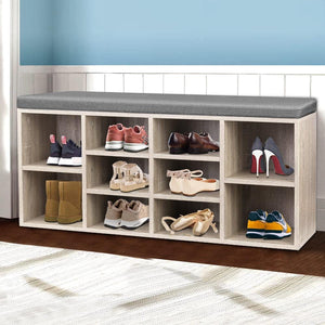 Jarlow Bench Shoe Storage, Wooden