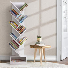 Load image into Gallery viewer, Brouwer Bookshelf, 9 Tier, White