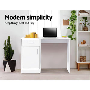 Hobbs Computer Desk, White