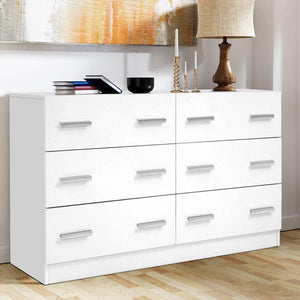 Jaya Chest of Drawers, White