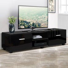 Load image into Gallery viewer, Calista Entertainment Unit, Black, 140cm