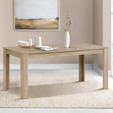 Load image into Gallery viewer, Kitchen Dining Table, 6-8 Seater, Wood Oak, 160cm