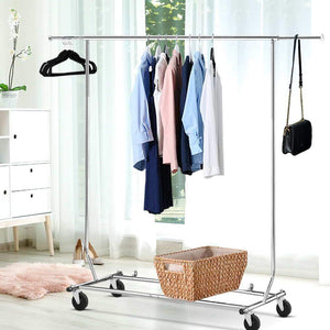 Portable Garment Hanger Stand, 6ft