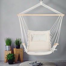 Load image into Gallery viewer, Hammock Arm Swing Chair, Cream