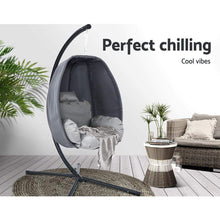 Load image into Gallery viewer, Hanging Egg Chair, Cream
