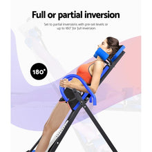 Load image into Gallery viewer, Fitness Inversion Table, Foldable
