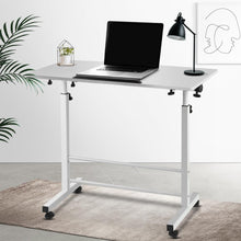 Load image into Gallery viewer, Laptop Stand Desk, Portable, White, 80cm