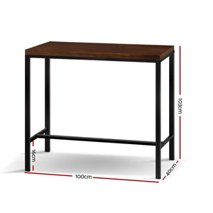 Alex Bar Table, Dark Brown