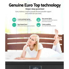 Load image into Gallery viewer, Euro Top Pocket Mattress, Spring, Double