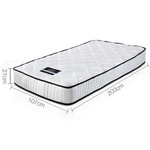 Load image into Gallery viewer, Pocket Spring Mattress, High Density, King Single