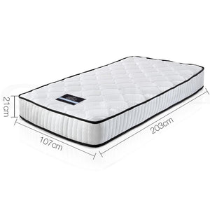 Pocket Spring Mattress, High Density, King Single