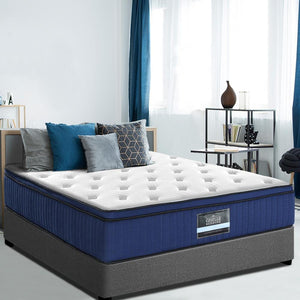 Mattress, Cool Gel, Memory Foam, Medium Firm, Queen