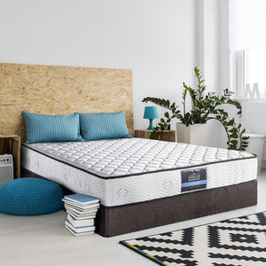 Pocket Spring Mattress, High Density Foam, Firm, Single