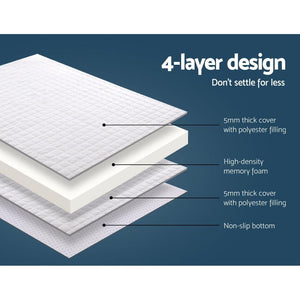 Mattress Topper, Memory Foam, Double