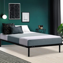 Load image into Gallery viewer, Petron Bed Frame, Metal, Black, King Single