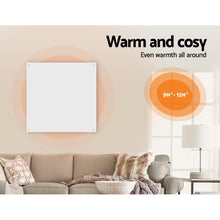 Load image into Gallery viewer, Panel Heater, Wall Mount, Slimline, White, 450w