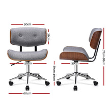 Load image into Gallery viewer, Executive Chair, Fabric, Grey