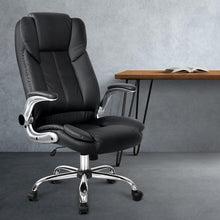 Load image into Gallery viewer, Executive Office Chair, Racing Style, Black