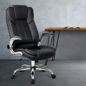 Executive Office Chair, Racing Style, Black