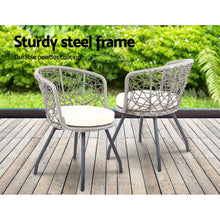 Load image into Gallery viewer, Outdoor Chair & Table Set, Grey