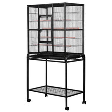 Load image into Gallery viewer, i.Pet Large Bird Cage with Perch - Black