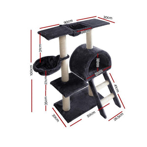 Cat Scratching Poles Post Furniture Tree, Dark Grey, 100cm