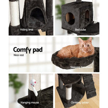 Load image into Gallery viewer, Cat Scratching Post, Multi-Level, Grey, 193cm