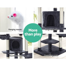 Load image into Gallery viewer, Cat Tree Scratcher Tower Condo House, Grey