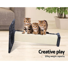 Load image into Gallery viewer, Non-Toxic Sisal Cat Scratching Post, Beige, 92cm